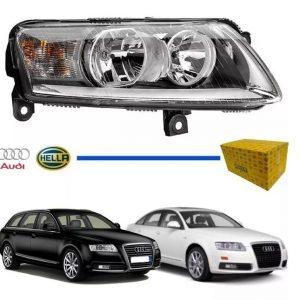 Farol Audi A6 2004 2005 2006 2007 2008 2009 2010 Original (Direito)