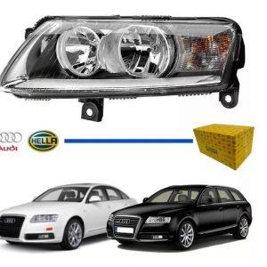 Farol Audi A6 2004 2005 2006 2007 2008 2009 2010 Original (Esquerdo)