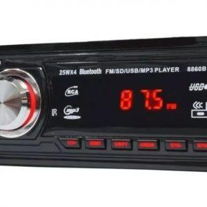 Radio Som Automotivo Mp3 Usb SD Bluetooth Controle Remoto